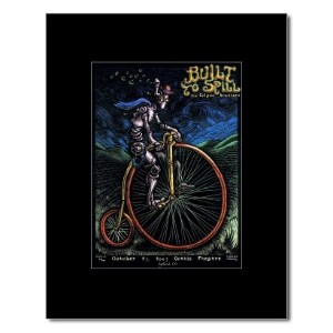 BUILT TO SPILL - Gothic Theatre Englewood Co 2003 Mini Poster - 19.2x13.8cm