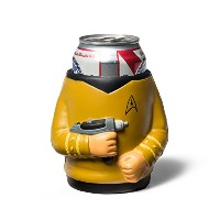 BigMouth Inc Star Trek Captain Kirk Drink Kooler, Yellow