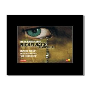 NICKELBACK - Silver Side Up Matted Mini Poster - 21x13.5cm