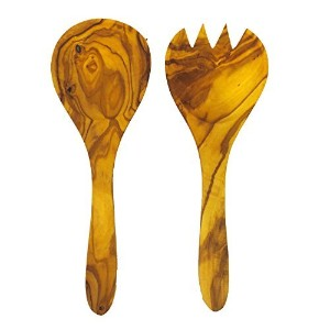 Arte Legno Olive Wood Salad Servers ( 10.5インチ)