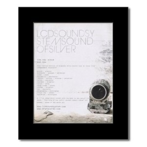 LCD SOUNDSYSTEM - Of Silver Mini Poster - 31.8x28cm