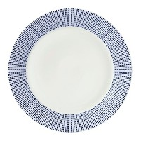Royal Doulton Pacific Dots Dinner Plate, 11 Inch by Royal Doulton
