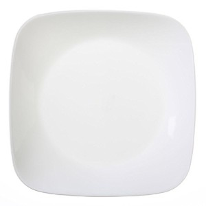 Corelle Square Pure White 8-3/4 Salad Plate (Set of 12) by Corelle Coordinates