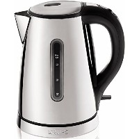 KRUPS BW730D Breakfast Set Electric Kettle with Brushed and Chrome Stainless Steel Housing, 1.7...