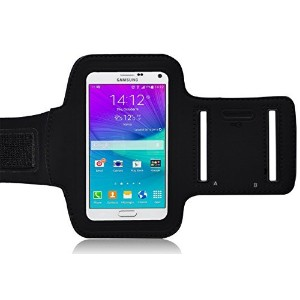 Galaxy Note 5 Armband, Ionic ACTIVE Sport Armband Samsung Galaxy Note 5 Case (Black) by Ionic Pro