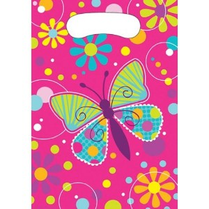 Butterfly Sparkle Party Loot Bags