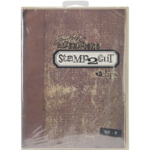 Sizzix eclips Stamp2Cut Cartridge By Tim Holtz-Alterations No. 9 (並行輸入品)
