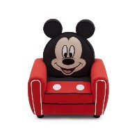 DeltaChildren デルタチルドレン Mickey Mouse Upholstered Chair ミッキーマウス チェア ソファ