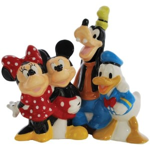 Salt & Pepper Shakers - Disney - Mickey & Friends New Licensed Toys 18922