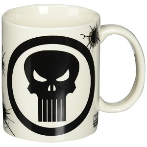 Zak! Designs Ceramic Mug with Marvel Extreme The Punisher Graphics, 11.5 oz. by Zak Designs