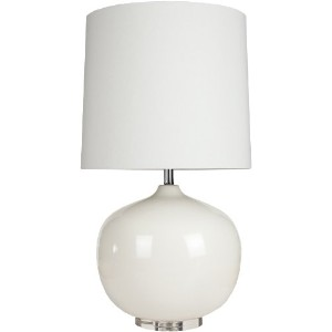 Surya LMP-1015 Table Lamp, 31.5 by 17 by 17-Inch, Ivory White by Surya