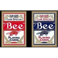Bee ビー [ポーカーサイズ] No.92 Club Special -ブルー-
