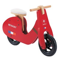 RENAULT WOODY TRAINEE-BIKE ウッディトレーニーバイク 11326-02 Ruby Red