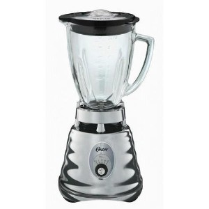 Oster 4655 blender, Retro Chrome 3 speed, 5 cup glass jar. by Oster [並行輸入品]