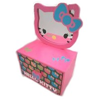 Hello Kittyジュエリーボックスwith Removable Mirror