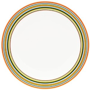 iittala Origo plate, orange 26cm [Kitchen & Home] by Littala [並行輸入品]