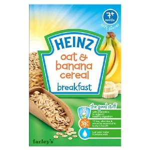Heinz Breakfast Oats & Banana 7 Mths+ 120g