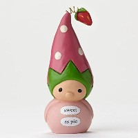 Enesco Bea's Wees Sweet As Pie Mini Figurine by Enesco [並行輸入品]