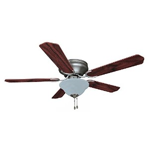 Hardware House 206907 Ceiling Fan, Satin Nickel Finish by Hardware House