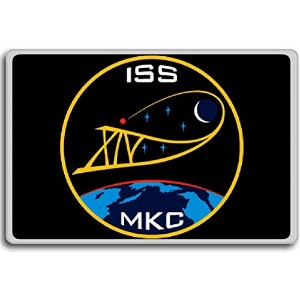 ISS Expedition 14 - International Space Station Missions Patches fridge magnet - 蜀キ阡オ蠎ォ逕ィ繝槭げ繝阪ャ繝
