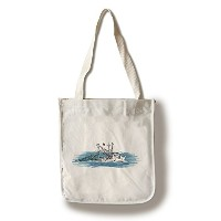 Shrimp Boat – アイコン Canvas Tote Bag LANT-72459-TT