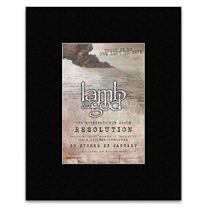 LAMB OF GOD - Resolution Matted Mini Poster - 28x21cm