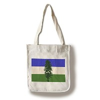 Cascadiaフラグ – 活版 Canvas Tote Bag LANT-75152-TT