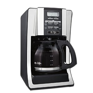 Mr. Coffee BVMC-SJX33GT-AM 12 Cup Programmable Coffeemaker, Chrome,FFP Packaging by Mr. Coffee