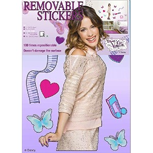 Violetta Wall Sticker DIN A3