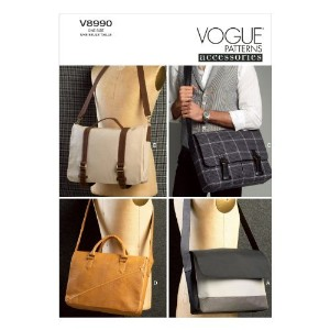 Vogue Patterns V8990OSZ Bags Sewing Template, One Size Only by Vogue Patterns [並行輸入品]