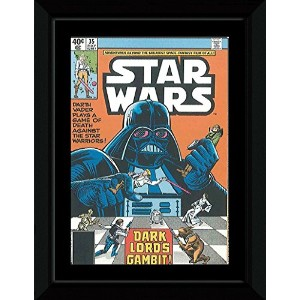 Star Wars - Dark Lords Gambit! Framed Mini Poster - 14.7x10.2cm