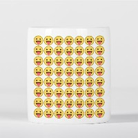 Face with Stuck-Out Tongue Emoji Smile Pattern 貯金箱