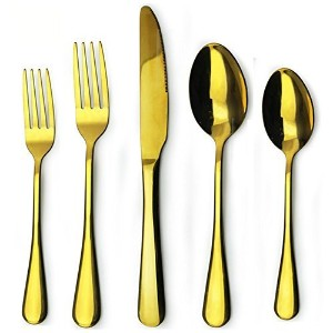 Flatware Set, 20-piece Aoo Stainless Steel Cutlery, Service for 4 by Aoo
