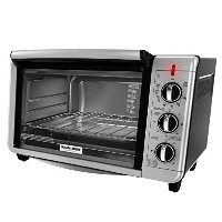 Black & Decker TO3230SBD 6-Slice Counter Top Convection Oven, Silver [並行輸入品]
