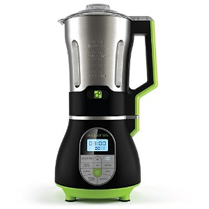3 Squares SOUP3RB Cook + Blend Blender with Built-In Heating Element Stainless Steel Pitcher, 7 Cup...