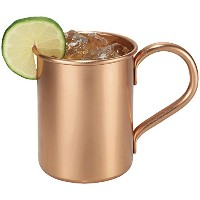 Melange Copper Classic Mug for Moscow Mules - 24 oz - 100% Pure Copper - Heavy Gauge - No lining -...
