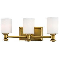 Minka Lavery 5173-249 Harbour Point 3 Light Bath Lighting, Liberty Gold Finish by Minka Lavery