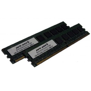2GB 2 X 1GB DDR2 Memory Upgrade for HP Compaq Workstation xw4200 PC2-4200 533MHz 240 pin SDRAM ECC...