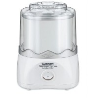 Cuisinart ICE-20FR Automatic Frozen Yogurt-Ice Cream & Sorbet Maker, White (Certified Refurbished) ...