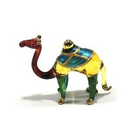 Handmade Camel Art Glass Blown Desert / Wild Animal Figurine by We Are Handmade Figurine Art Glass...