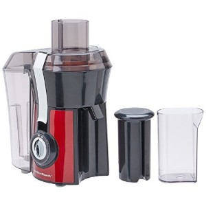 Hamilton Beach Big Mouth Juice Extractor, Red [並行輸入品]