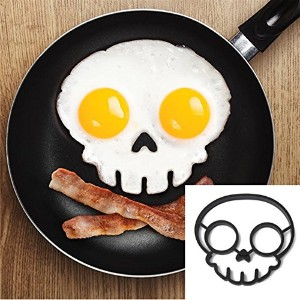 Silicone Skull Egg Frying Mold Breakfast Pancake Mould (Usa)
