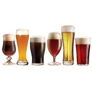 Luminarc Assorted Craft Brew Beer Glasses, Set of 12 by Luminarc