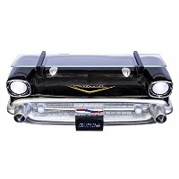 Chevrolet 1957 Bel AirブラックFront End Wall Shelf ( Working Lights )