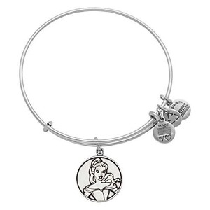 Disney Parks Alex and Ani Beauty and the Beast Belle Silver Bracelet by Alex and Ani [並行輸入品]