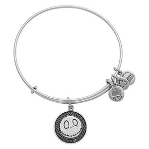 Disney Parks Alex and Ani NBC Nightmare Before Christmas Jack Skellington Silver Bracelet Charm by...