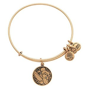 Disney Parks Alex and Ani Tinker Bell Gold Bracelet by Alex and Ani [並行輸入品]