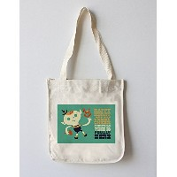 Elf – レトロクリスマス Canvas Tote Bag LANT-77433-TT