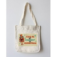 Nutcracker – レトロクリスマス Canvas Tote Bag LANT-77436-TT