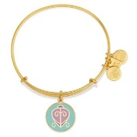 Alex and Ani Charity by Design The Way Home拡張可能なゴールド調バングルブレスレット